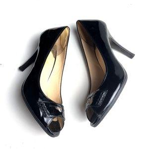 Cole Hann Nike Air Black High Heels 8 1/2